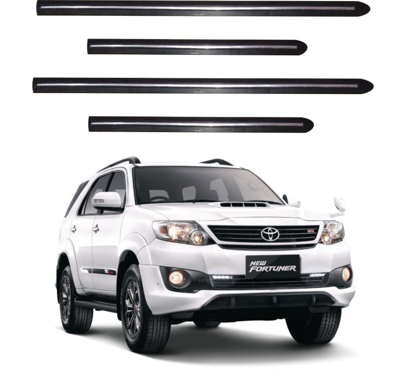 Buy Trigcars Toyota Fortuner Old Car Side Beading online