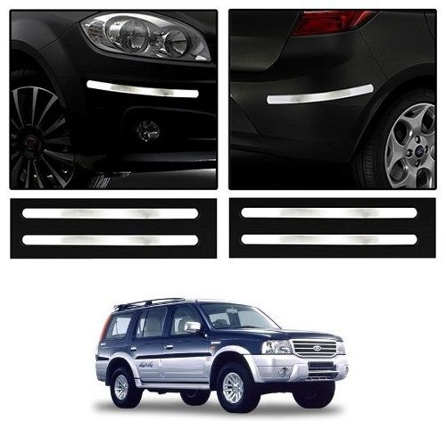 Buy Trigcars Ford Endeavour Old Car Chrome Bumper Scratch Potection Guard Car Bluetooth online