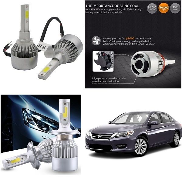 Buy Trigcars Honda Accord Old Car LED Hid Head Light online