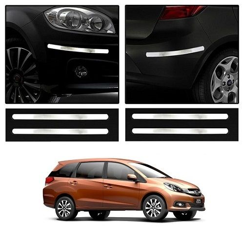 Buy Trigcars Honda Mobilio Car Chrome Bumper Scratch Potection Guard Car Bluetooth online