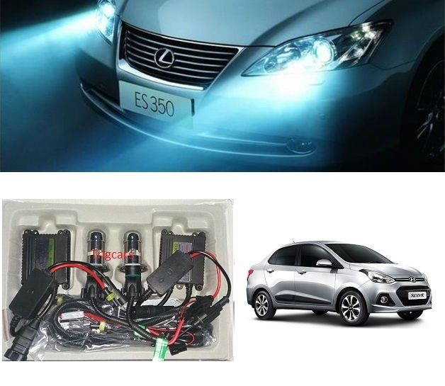 Buy Trigcars Hyundai Xcent Car Hid Light online