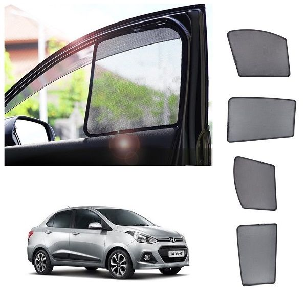 Buy Trigcars Hyundai Xcent Car Half Sun Shade Online Best Prices