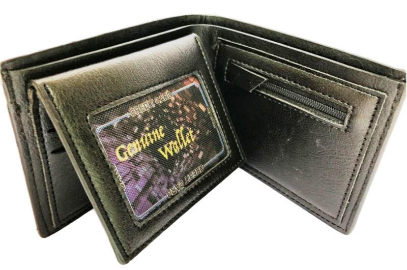 Buy Kash Genuine Leather Wallet Coin Pouch Black (code - Glblcoin) online