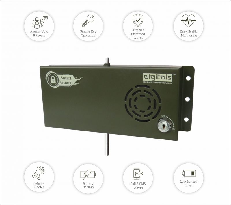 Buy Digitals Smart Guard Siren GSM online