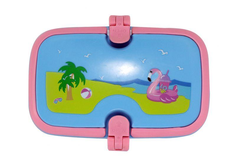 Smily Kiddos Smily Unicorn Lunch Box (light Blue)
