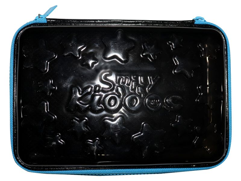 Buy Smily Kiddos | Smily Pvc Pencil Case ( Black ) online