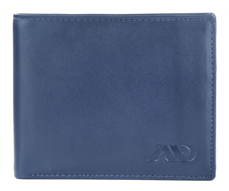 Buy Annodyne Navy Pure Leather Wallet for Men online