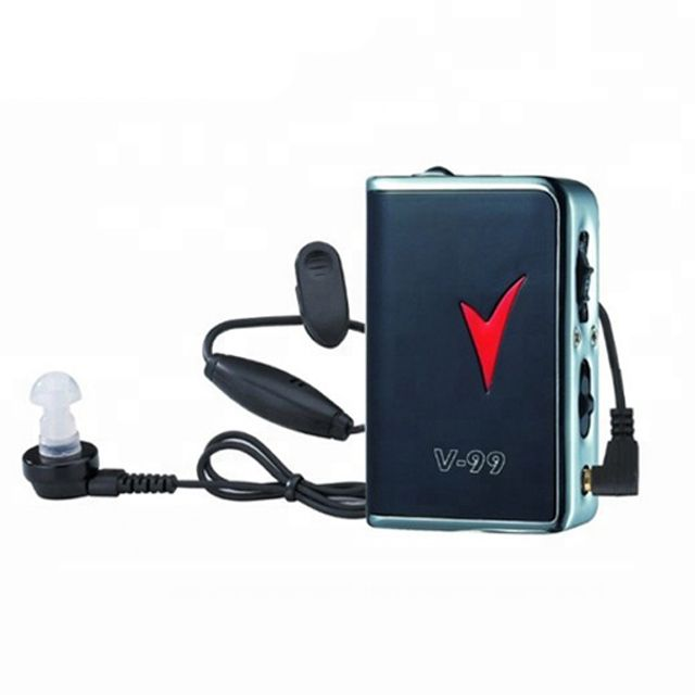 Buy Axon Hearing Aid V-99 Sound Enhancement Amplifier Clip Style Pocket Hearing Aid online