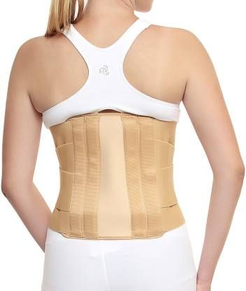 Buy Kudize Lumbar Sacral (l.s.) Belt Contoured Spinal Brace Mild Lower Back Support (code -gr02) online