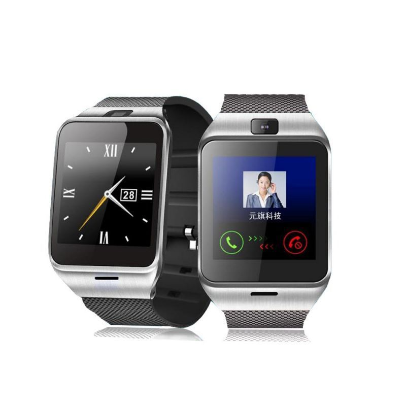 Buy Dz09 Sim Card And Memory Cards Supported Bluetooth Smart Watch Android And Ios Series Smartwatch (black Strap) online