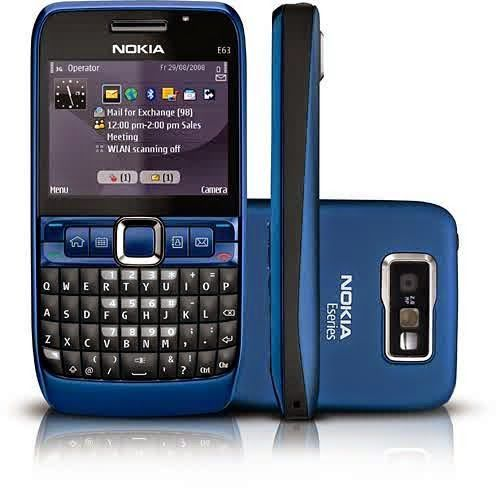 Buy Imported Nokia E63 Smartphone - Refurbished online