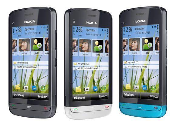Buy Refurbished Nokia C5-03 Mobile online