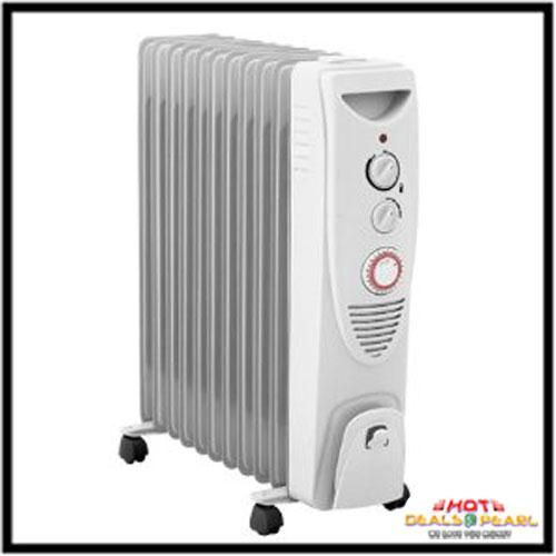 buy 11 fin oil filled radiator heater online | best prices in