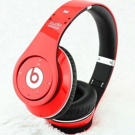 Buy Beats Studio Wireless Bluetooth Headphones OEM Red Online  daf3fef635af