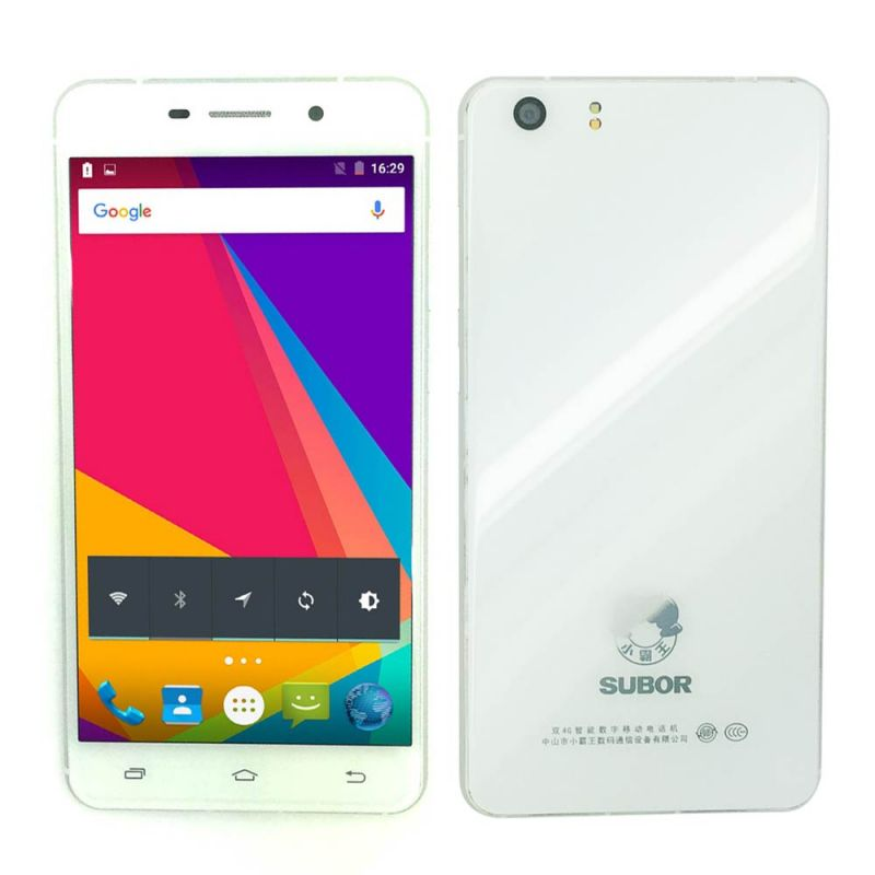 Buy Subor S5 4G Lte 5.1 Android 2GB RAM 16GB ROM 8MP Front 13mp Back Camera Dual Sim Smartphone online
