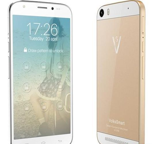 Buy Volkssmart S53 3G With 16GB ROM & 2GB RAM 2200mah Battery Android Kitkat Dual Sim Smartphone online