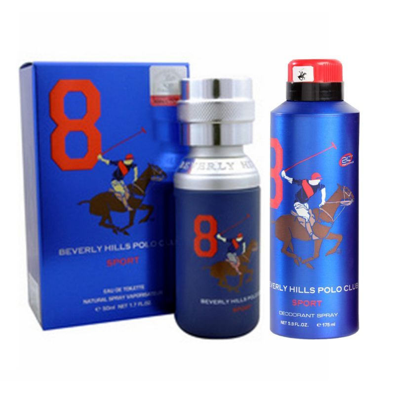 Buy Beverly Hills Polo Club No.8 Edt - 50 Ml - (code - 100pc850m) online