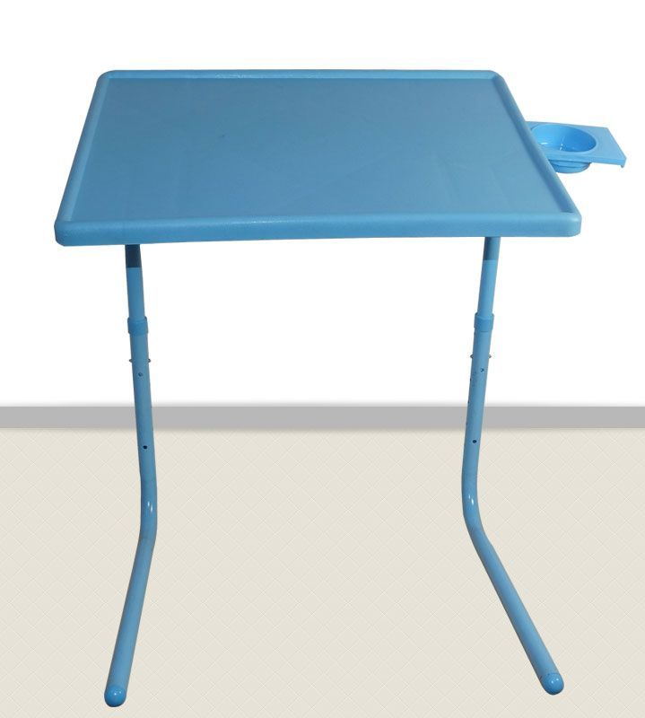 Buy Blue Table Mate 2 Folding Portable Table Mate II With Cup Holder online