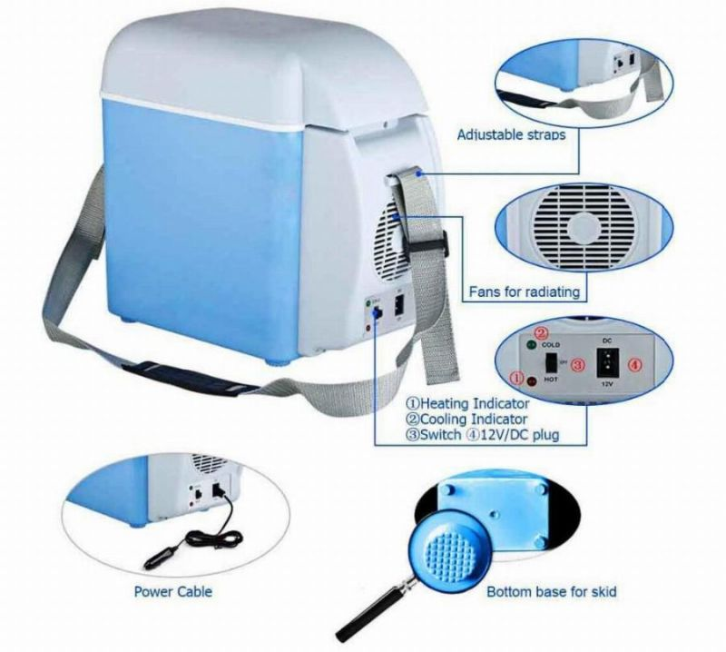 Buy 12v 7.5l Portable Thermoelectric Car Cooling & Warming Refrigerator online