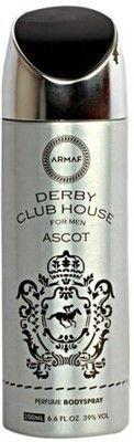 Buy Armaf Derby Club House Ascot Deodorant Spray - 200 Ml (for Men) online