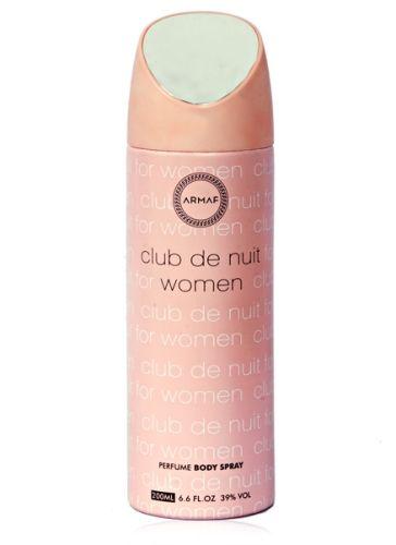 Buy Armaf Club De Nuit Body Spray For Women(200ml) online