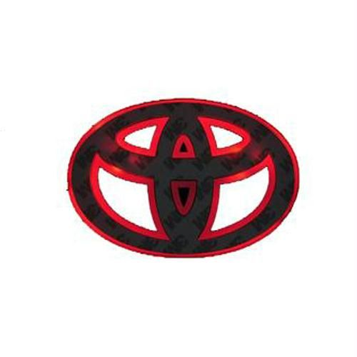 Buy Car Logo Emblem Light For Toyota Red Online Best Prices In
