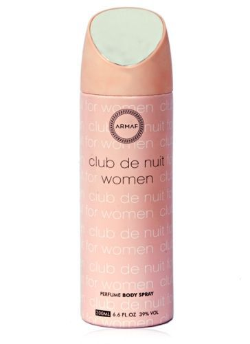 Buy Armaf Club De Nuit Body Spray For Women(200ml) online