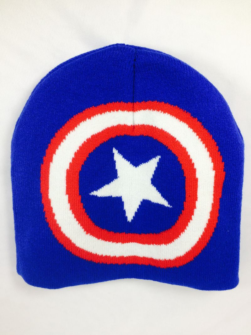 Buy Captain America Woollen Cap Unisex Freesize Fits All online