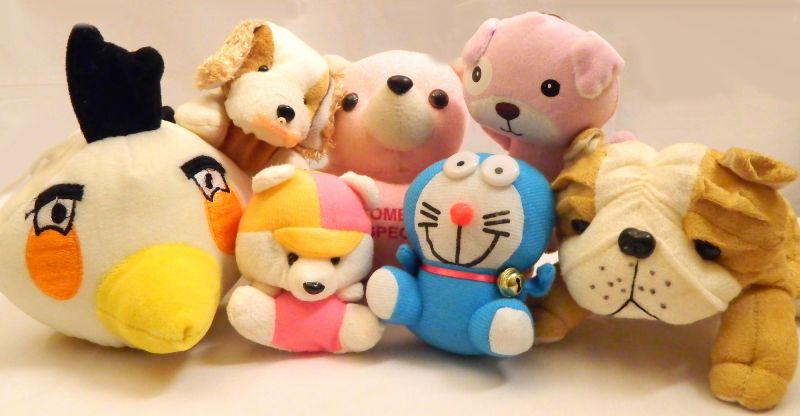 Buy Rakhi Gifts - Set Of 5 Cute Soft Toys online