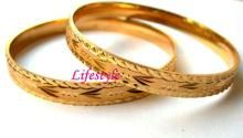 Buy Gold Plated Jewellery Kada (pair) online