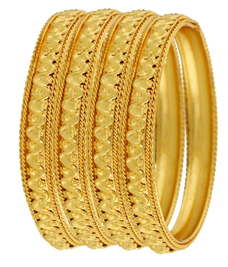 Buy Jewelery Gold Plated Bangles Online | Best Prices in India ...