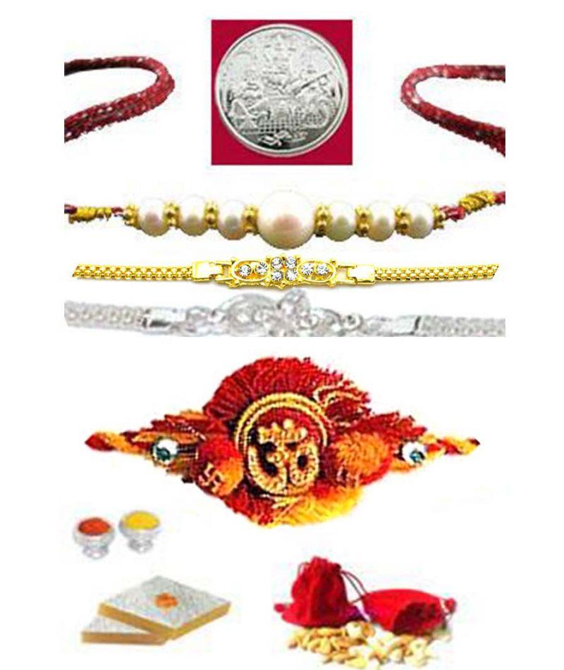 Buy Auspicious Rakhi Hamper....for Your Brother online