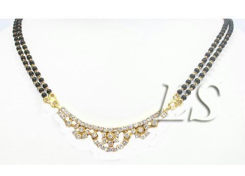 Buy Elegant Ameican Diamond Mangalsutra online