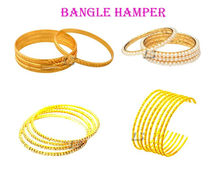 Buy Set Of 18 Bangles...exclusive Bangle Hamper online