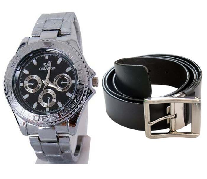 Buy Buy 1 Wrist Watch And Get A Belt  Free online