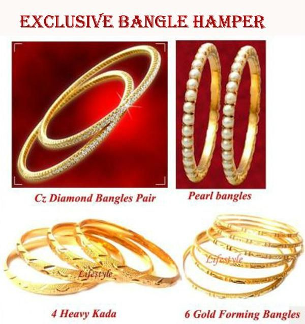 Buy Set Of 14 Exclusive Bangle Hamper online
