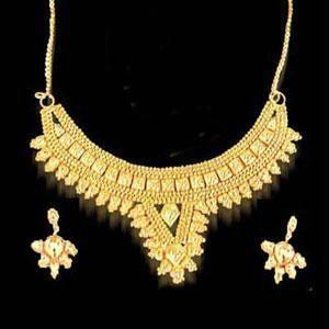 Buy 22crt Gold Plated Set online