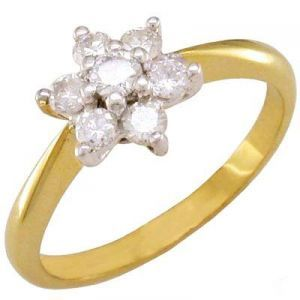 Buy Hi Lifestyles Designer Pure Silver Pure Cz Diamond Ring -- Nakring1 online