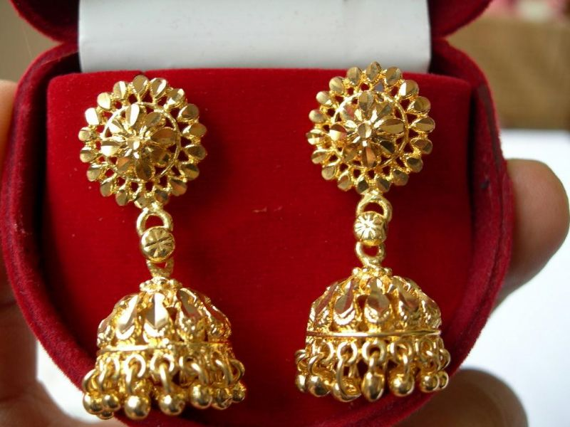 Charming Heavy Gold Earring Gallery - Jewelry Collection Ideas ...
