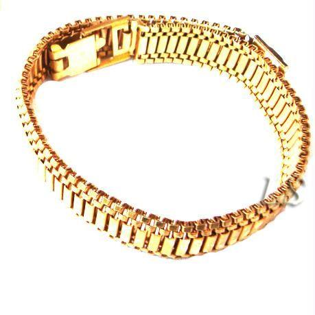 Buy Heavy Gold Plating Bracelet ....for Men online