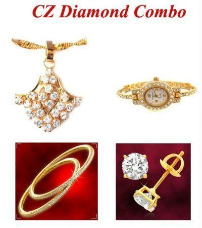 Buy Cz Diamond Combo online