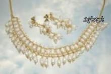 Buy Exclusive Jewellery Fresh Water Pearl Set online