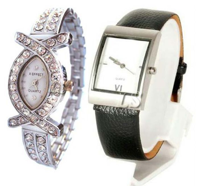 Buy Buy 1 Get 1 Free- Stylish Wrist Watches 01 online