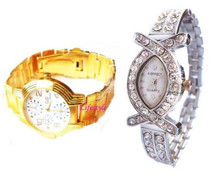 Buy Buy 1 Get 1 Free- Stylish Wrist Watches 19 online