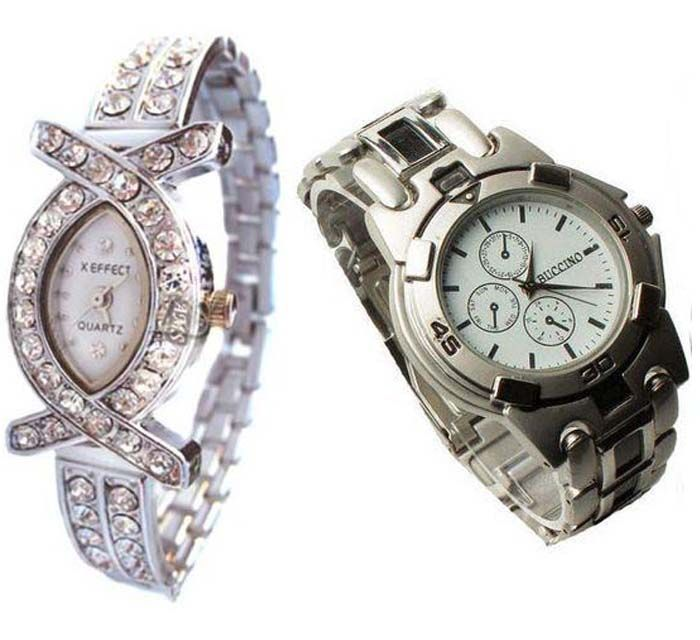 Buy Buy 1 Get 1 Free- Stylish Wrist Watches 30 online