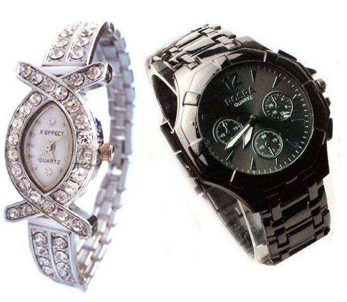 Buy Buy 1 Get 1 Free- Stylish Wrist Watches 31 online