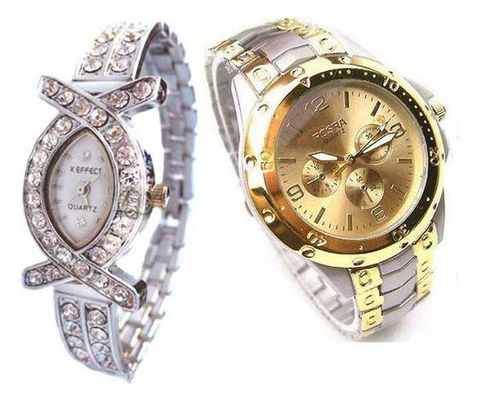 Buy Buy 1 Get 1 Free- Stylish Wrist Watches 34 online