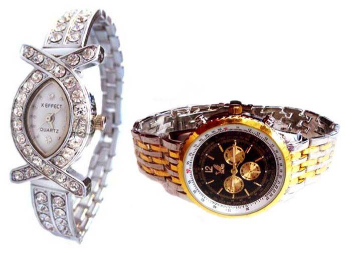 Buy Buy 1 Get 1 Free- Stylish Wrist Watches 40 online