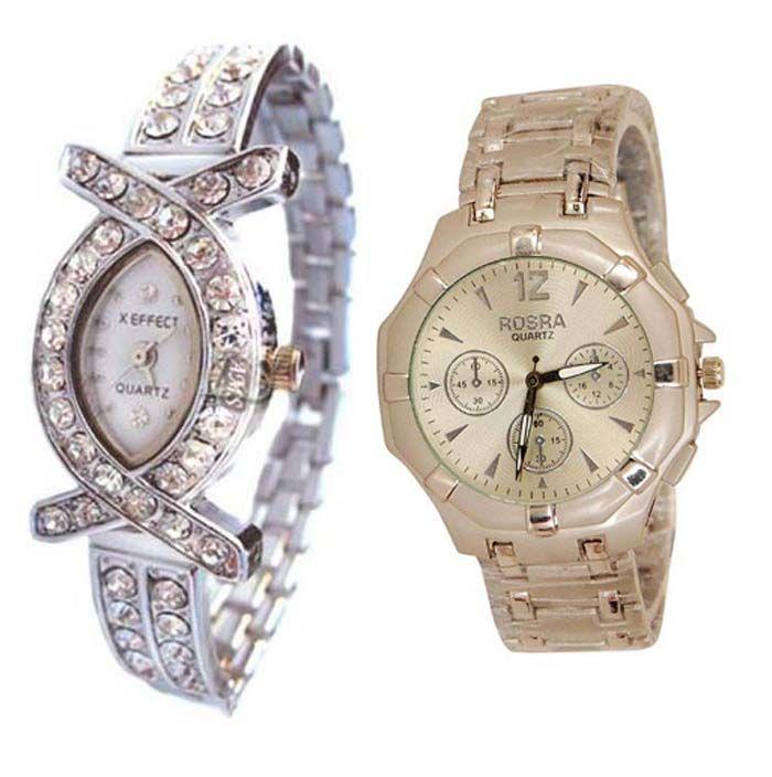 Buy Buy 1 Get 1 Free- Stylish Wrist Watches 47 online