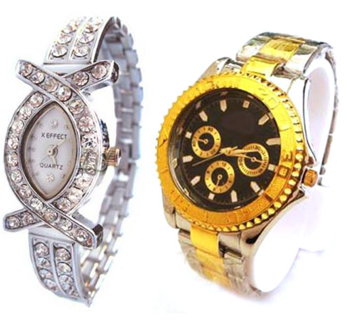 Buy Buy 1 Get 1 Free- Stylish Wrist Watches 05 online